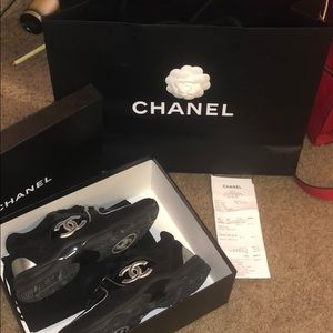 Size 37 chanel sneakers
